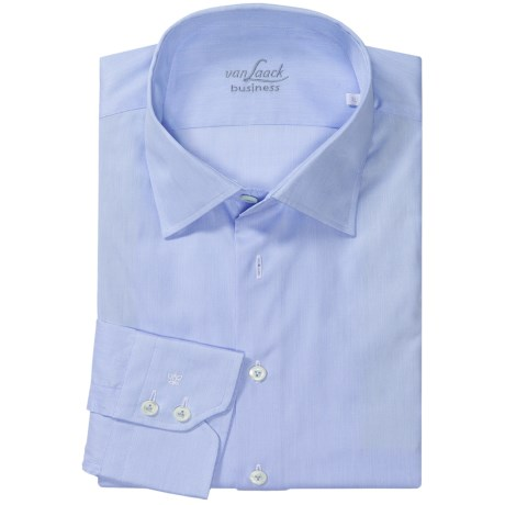 Van Laack Ret Shirt - Spread Collar, Long Sleeve (For Men)