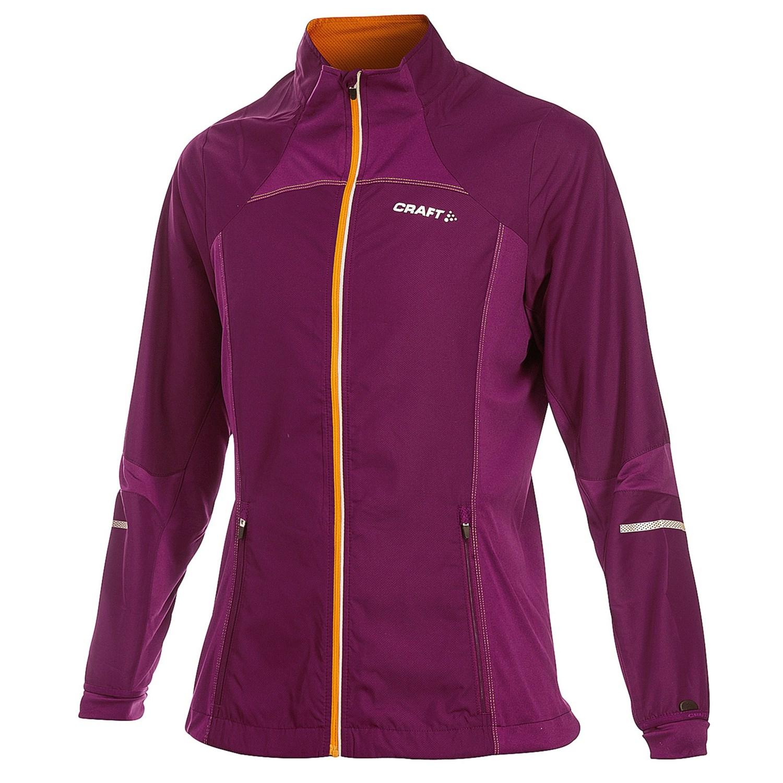 Craft sportswear high performance run jacket for women for Craft women s run