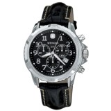 Wenger GST Watch - Leather Strap (For Men)