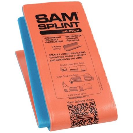 """SAM Splint - 36"""""""