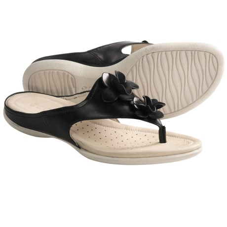 ECCO Flash Flower Thong Sandals (For Women)