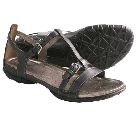 ECCO Groove Sandals - Leather (For Women)