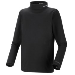 Columbia Sportswear Base Layer Mock Neck Omni-Heat® Top - Midweight, Long Sleeve (For Toddlers)