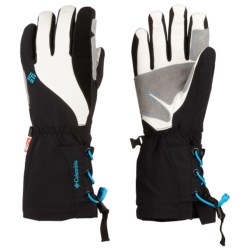 Columbia Sportswear White Dawn Soft Shell Omni-Heat® Gloves - Waterproof, Insulated (For Women)