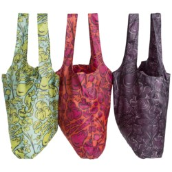iota Shopper-Style Reusable Bags - Set of 3