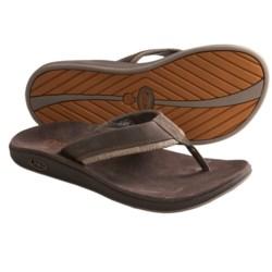 Chaco Fontas Sandals - Leather, Flip-Flops (For Men)