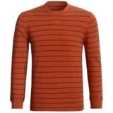 Stripe Thermal Shirt - Long Sleeve (For Men)