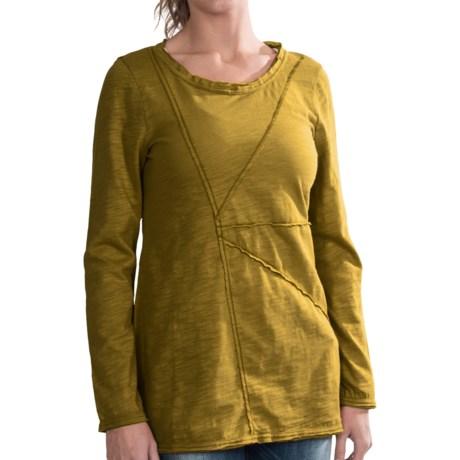 Neon Buddha Festive Cotton T-Shirt - Long Sleeve (For Women)
