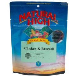 Natural High Chicken and Broccoli - 2-Person