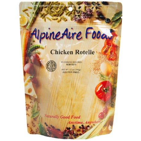 AlpineAire Chicken Rotelle - 4-Person