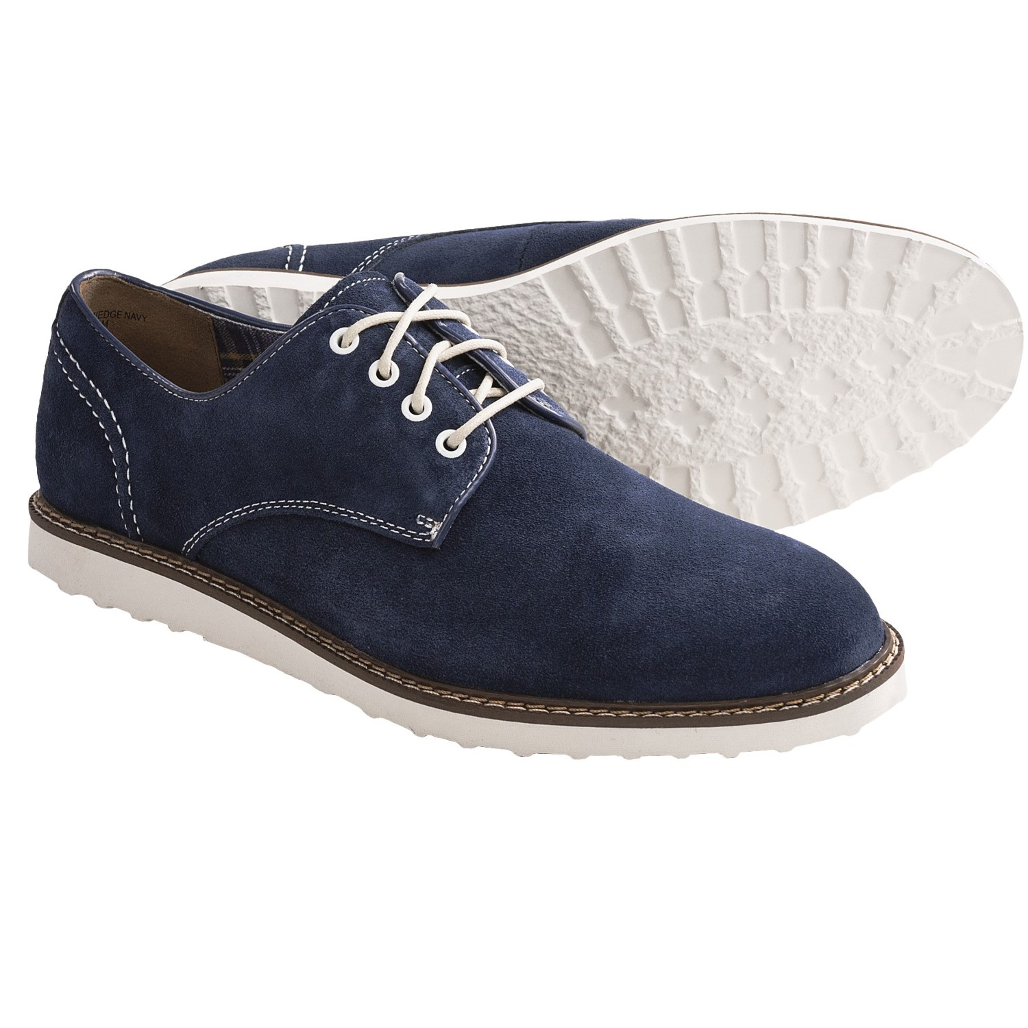 Hush Puppies Derby Wedge Shoes (For Men) 6519Y - Save 80%