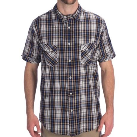 Dakota Grizzly Jake Cotton Plaid Shirt - Short Sleeve (For Men)
