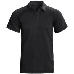 Gramicci Austin High-Performance Polo Shirt - UPF 20, Zip Neck, Short Sleeve (For Men)