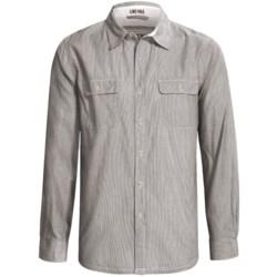 Gramicci Scout Railroad Stripe Shirt - Cotton, Long Sleeve (For Men)
