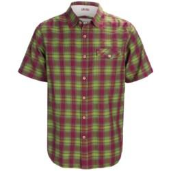 Gramicci Oliver Shadow Plaid Shirt - Short Sleeve (For Men)