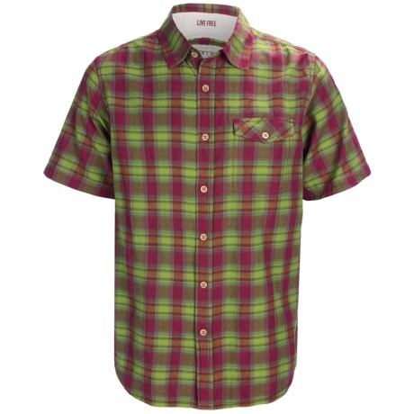 Gramicci Oliver Shadow Plaid Shirt - Short Sleeve (For Men)