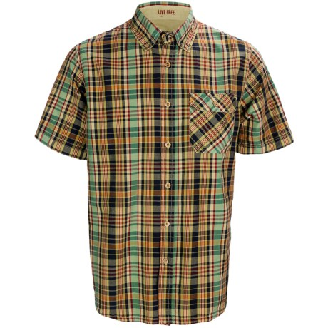 Gramicci Jalama Paya Madras Shirt - Short Sleeve (For Men)