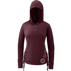 Outdoor Research Essence Henley Hooded Shirt - Long Sleeve (For Women)