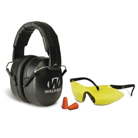 Walker's Game Ear Walker's Game Ear EXT Safety Combo Kit