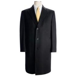 Wool-Cashmere Top Coat (For Men)
