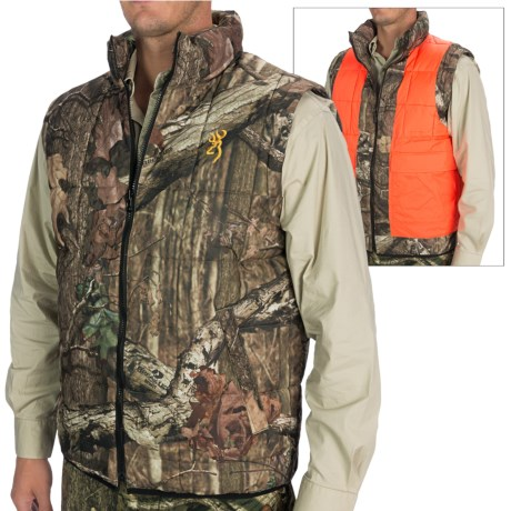 Browning Reversible Hunting Vest - Insulated (For Men)