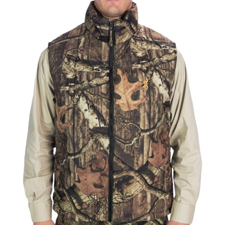 Browning Montana Camo Vest - Insulated (For Men)