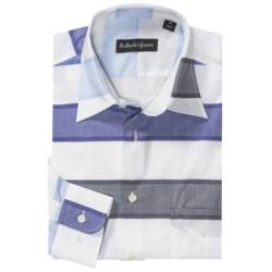 Bullock & Jones Stripe Spread Collar Sport Shirt - Long Sleeve (For Men)