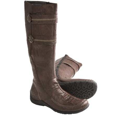 Rieker Astrid 70 Tall Boots - Lambswool Lining (For Women)