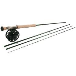 Redington Torrent Fly Fishing Combo - 4-Piece Rod with Surge Reel, 7/8/9wt