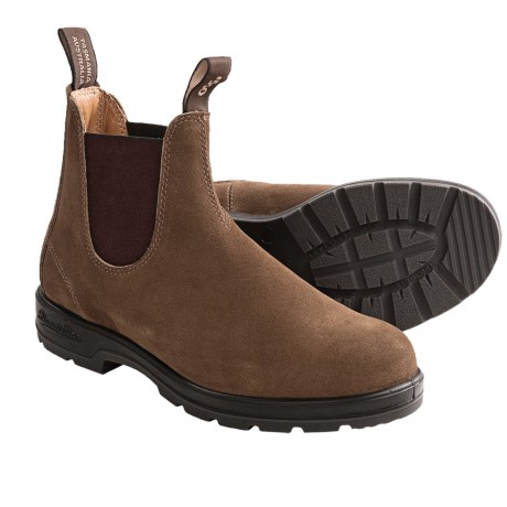 Blundstone 552 Pull-On Boots - Suede (For Men and Women)