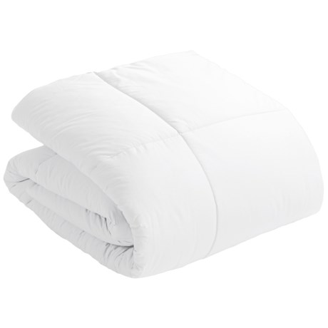 Blue Ridge Home Fashions Down Alternative Comforter - 233 TC Cotton, Full-Queen