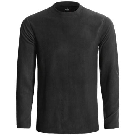 Terramar Fleece Base Layer Crew Top - Long Sleeve (For Men)