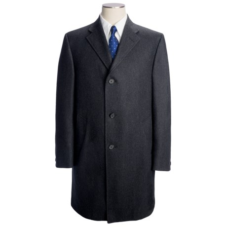 Hickey Freeman Wool-Cashmere Topcoat (For Men)