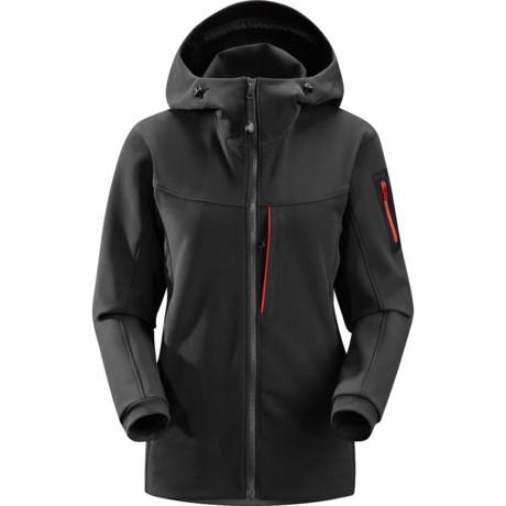 Arc'teryx Gamma MX Hooded Jacket - Soft Shell (For Women)