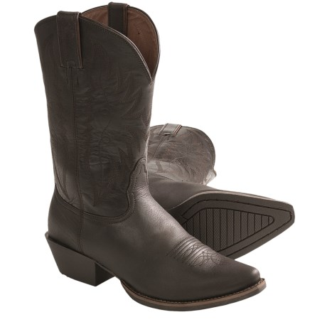 """Nocona Competitor Cowboy Boots - Leather, F-Toe, 11"""" (For Women)"""