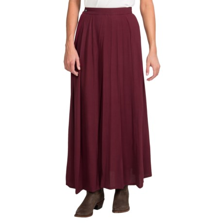 Scully Wahmaker Old West Long Skirt - 5-Gore (For Women)
