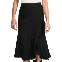 Scully Raw-Edge Wrap Skirt - Peruvian Cotton (For Women)