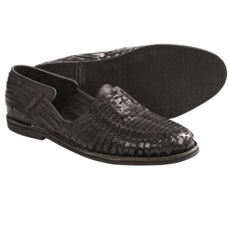 J.D. Fisk Hugo Loafer Shoes - Woven Leather (For Men)