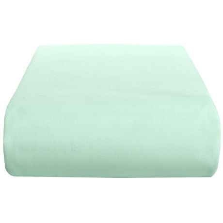 Chortex 200 TC Cotton Percale Fitted Sheet - King