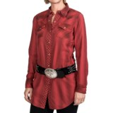 Ryan Michael The Tucson Tunic Shirt - Snap Front, Long Sleeve (For Women)