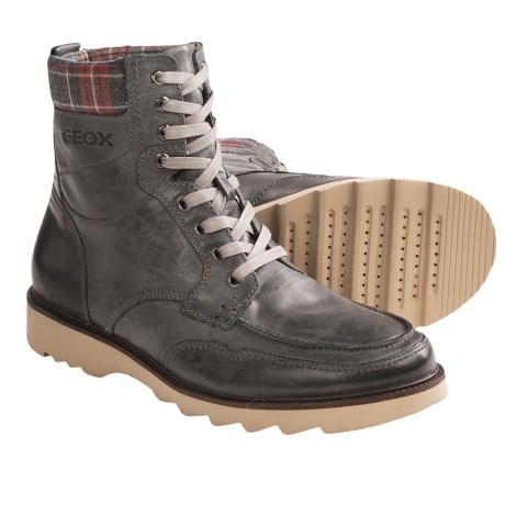 Geox Uomo Rodeo Lace-Up Boots (For Men)
