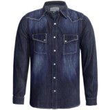 Ryan Michael The Greeley Cotton-Silk Shirt - Snap Front, Long Sleeve (For Men)