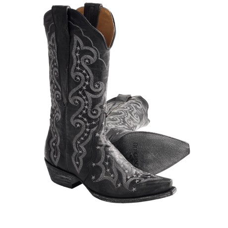 "Old Gringo Celeste Cowboy Boots - Leather, Snip Toe, 12"" (For Women)"