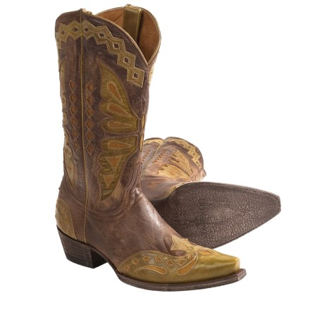 """Old Gringo Monarca Cowboy Boots - Leather, Snip Toe, 12"""" (For Women)"""