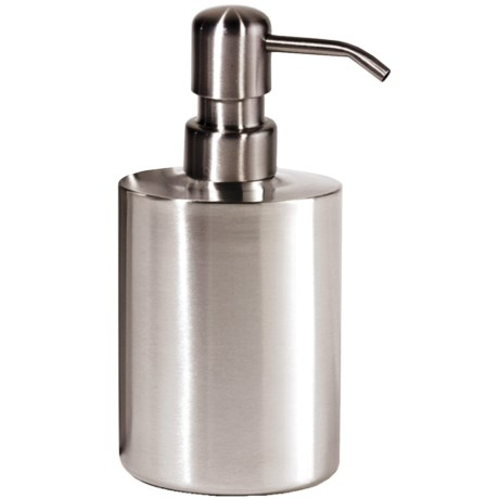 OGGI Round Pump Soap/Lotion Dispenser - Stainless Steel