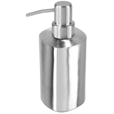 OGGI Square Stainless Steel Soap/Lotion Dispenser
