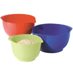 OGGI Melamine Mixing Bowl Set - 3-Piece