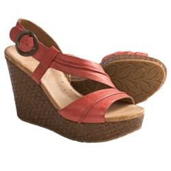 Naya Estra Wedge Sandals (For Women)
