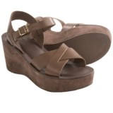 Kork-Ease Ava Wedge Sandals - Leather-Suede (For Women)