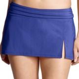 Lands' End Lands' End Lela Beach Mini Skirt Swim Bottoms - Built-In Briefs (For Women)